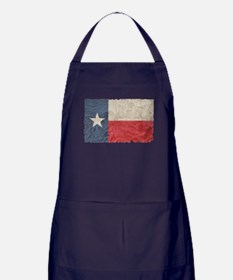 Texas Flag Apron (dark)