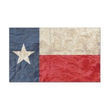 Texas Flag Rectangle Car Magnet