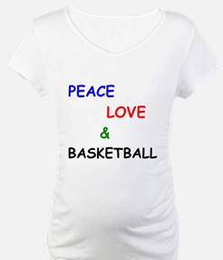 Peace Love and Basketball Shirt