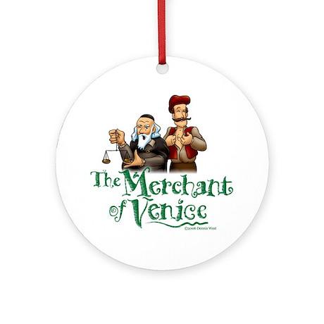 The Merchant of Venice Ornament (Round)