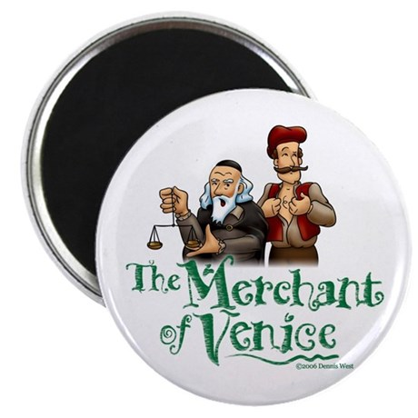 """The Merchant of Venice 2.25"""" Magnet (10 pack)"""