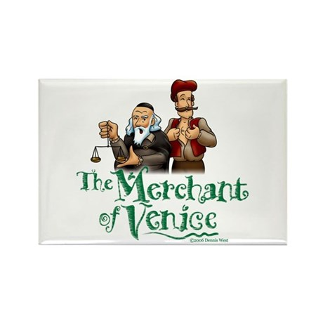 The Merchant of Venice Rectangle Magnet (100 pack)