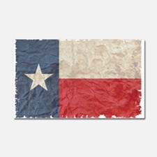 Texas Flag Car Magnet 20 x 12