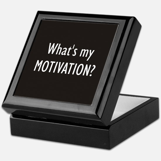 What's my MOTIVATION Keepsake Box