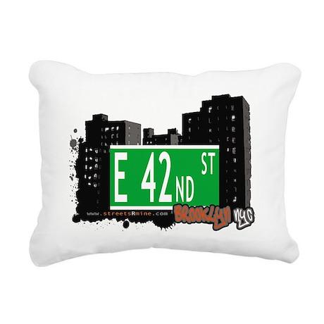 E 42nd street, BROOKLYN, NYC Rectangular Canvas Pi