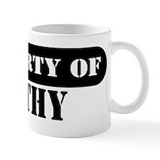 Property of Kathy Mug