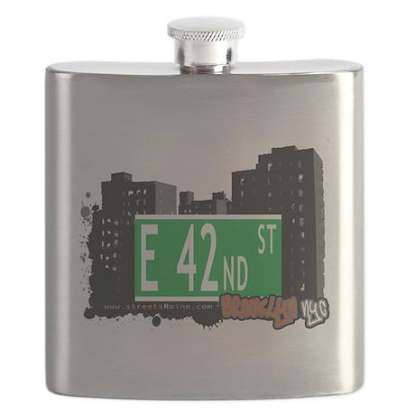E 42nd street, BROOKLYN, NYC Flask