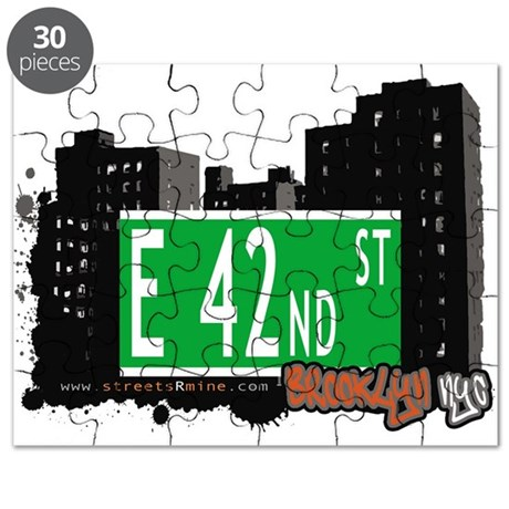 E 42nd street, BROOKLYN, NYC Puzzle