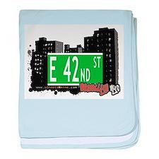 E 42nd street, BROOKLYN, NYC baby blanket