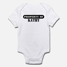 Property of Kathy Infant Bodysuit