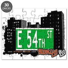 E 54th street, BROOKLYN, NYC Puzzle