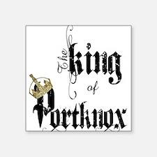 King of Portknox Sticker
