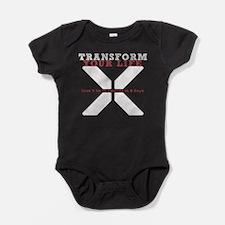 White X - Transform Your Life Baby Bodysuit