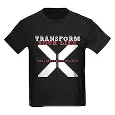 White X - Transform Your Life T-Shirt