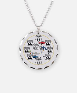U.S. ROUTE 66 - All Routes Necklace