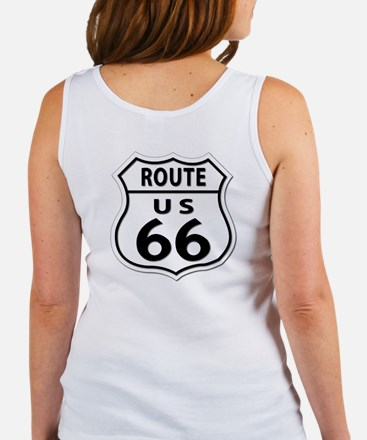 U.S. ROUTE 66 - All Routes Women's Tank Top