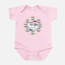 U.S. ROUTE 66 - All Routes Infant Bodysuit