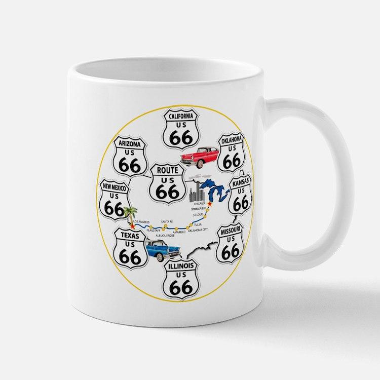 U.S. ROUTE 66 - All Routes Mug