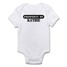 Property of Kathie Infant Bodysuit