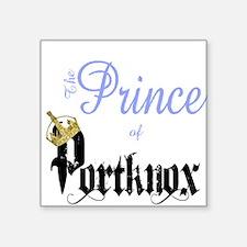 The Prince of Portknox Sticker