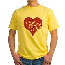 Love - Unicorns T-Shirt