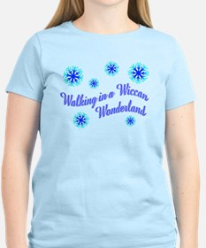 Walking in a Wiccan Wonderland T-Shirt