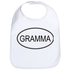 Oval: Gramma Bib