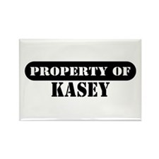 Property of Kasey Rectangle Magnet