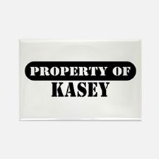 Property of Kasey Rectangle Magnet