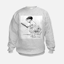 Cricket Illustration Sweatshirt