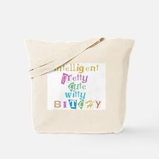 Intelligent & Bitchy Tote Bag