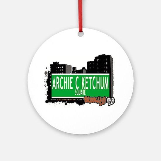 Archie C Ketchum, BROOKLYN, NYC Ornament (Round)