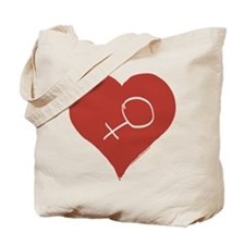 Love - Female Tote Bag