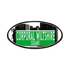 Corporal Wiltshire Square, BROOKLYN, NYC Patches