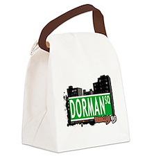 Dorman Square, BROOKLYN, NYC Canvas Lunch Bag