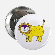 Happy Lion Button
