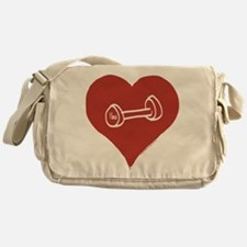 Love - Working out Messenger Bag