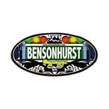 Bensonhurst Brooklyn NYC (Black) Patches