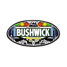 Bushwick Brooklyn NYC (Black) Patches