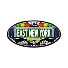 East New York Brooklyn NYC (Black) Patches