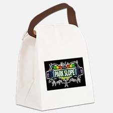 Park Slope Brooklyn NYC (Black) Canvas Lunch Bag
