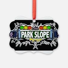 Park Slope Brooklyn NYC (Black) Ornament