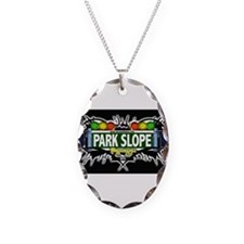 Park Slope Brooklyn NYC (Black) Necklace
