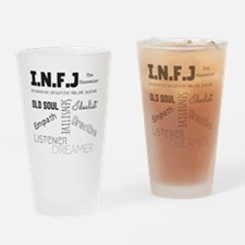 Cute Infj Drinking Glass