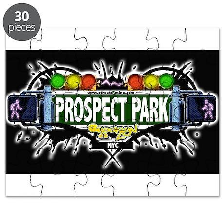 Prospect Park Brooklyn NYC (Black) Puzzle