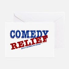 Comedy Relief Limited Edition Greeting Cards (Pk o