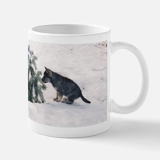 """""""Wolf Dog Cub"""" Mug"""