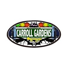 Carroll Gardens Brooklyn NYC (White) Patches