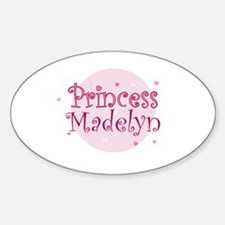 Madelyn Oval Decal