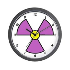XRay Wall Clock - Lavender Yellow